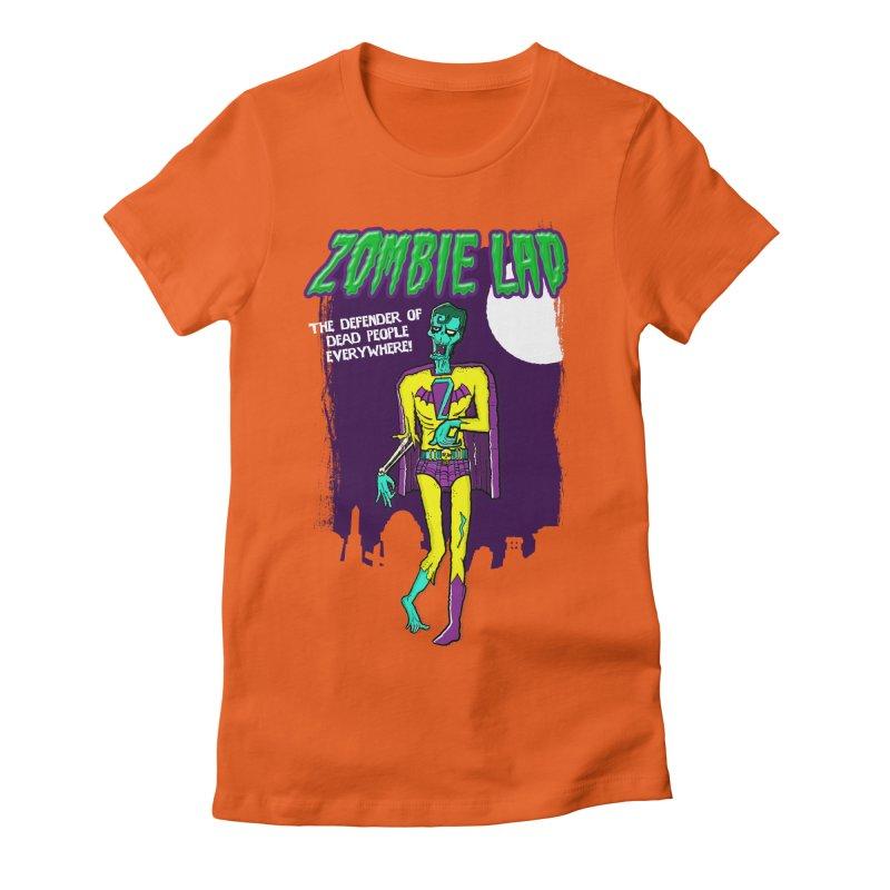 Zombie Lad Women's Fitted T-Shirt by John D-C's Artist Shop
