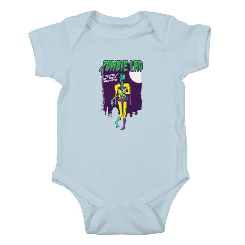 Zombie Lad Kids Baby Bodysuit by John D-C