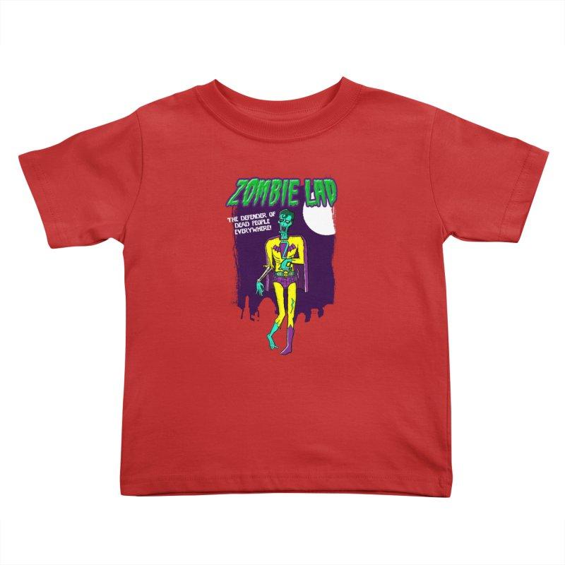 Zombie Lad Kids Toddler T-Shirt by John D-C