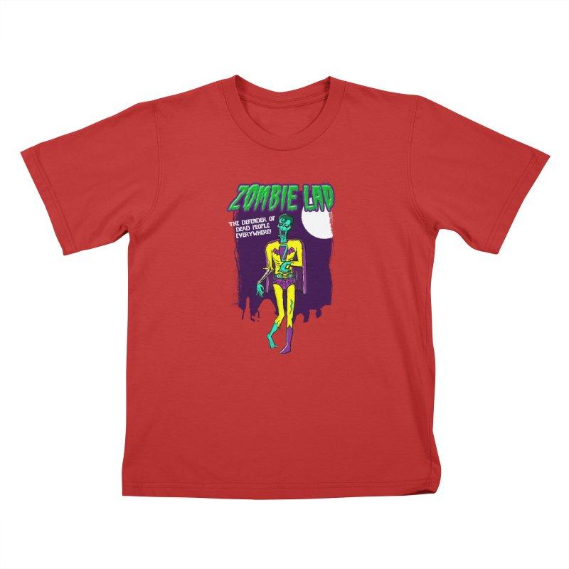 Zombie Lad Kids T-Shirt by John D-C