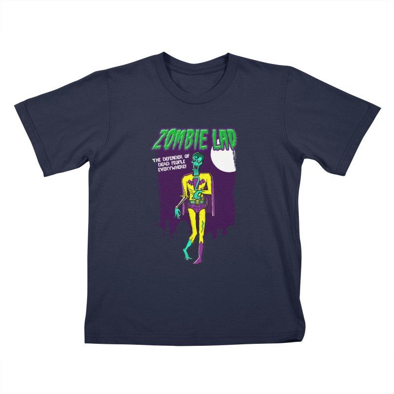 Zombie Lad Kids T-Shirt by John D-C's Artist Shop