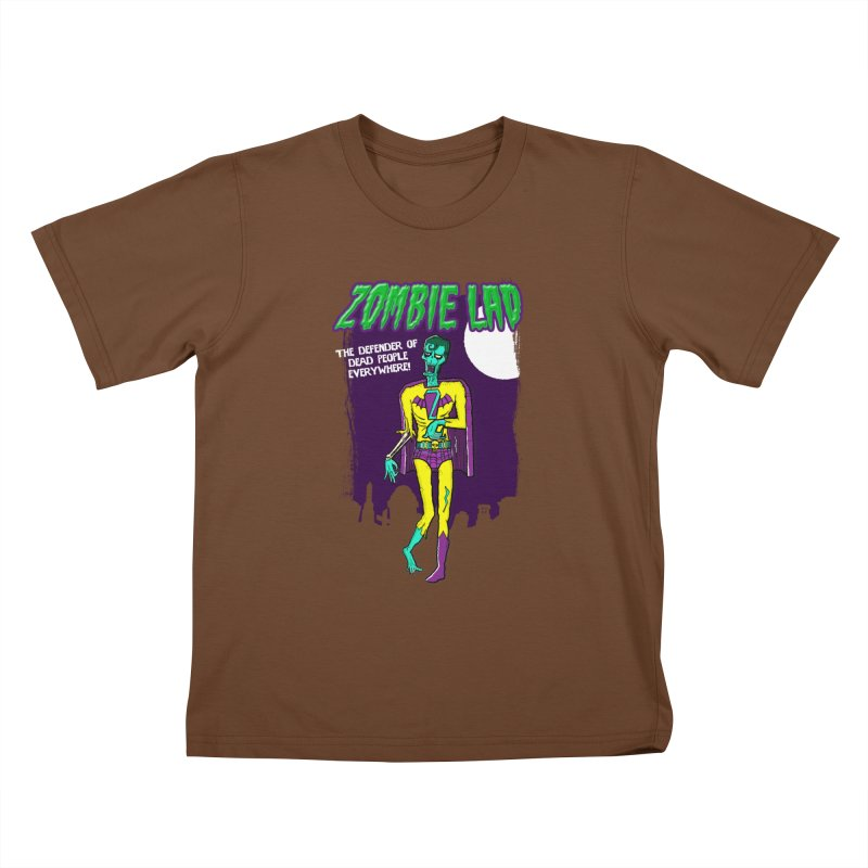 Zombie Lad Kids T-Shirt by John D-C