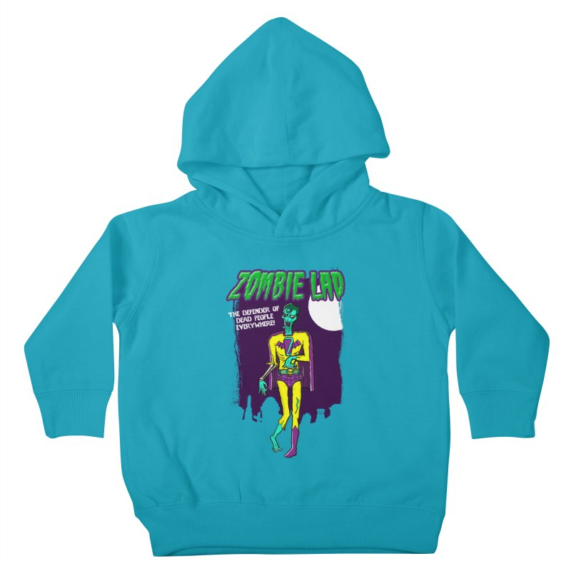 Zombie Lad Kids Toddler Pullover Hoody by John D-C's Artist Shop