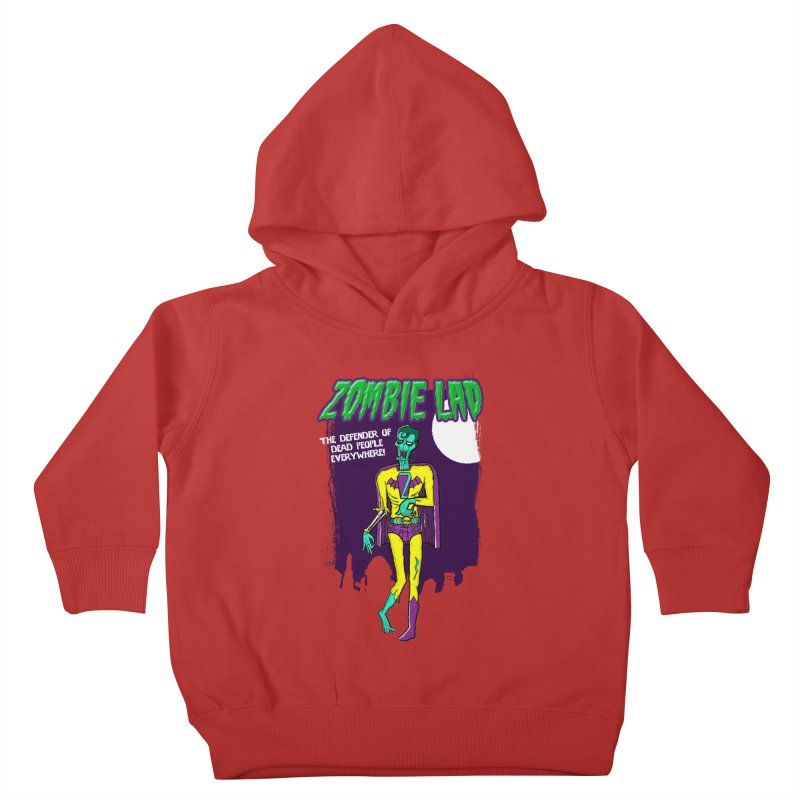 Zombie Lad Kids Toddler Pullover Hoody by John D-C