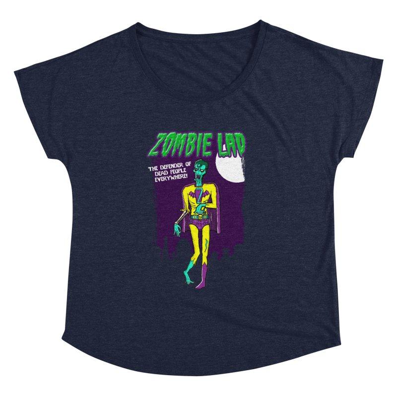 Zombie Lad Women's Dolman Scoop Neck by John D-C