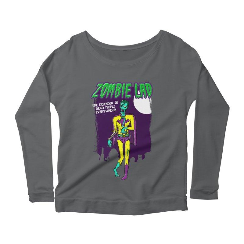 Zombie Lad Women's Scoop Neck Longsleeve T-Shirt by John D-C