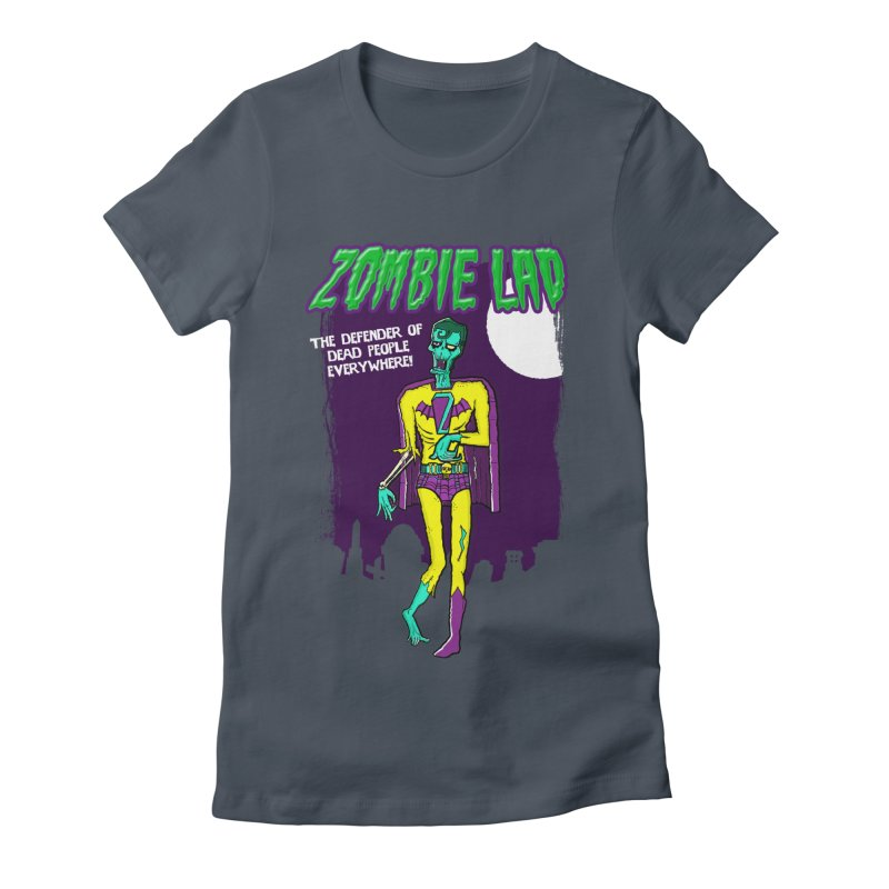 Zombie Lad Women's Fitted T-Shirt by John D-C's Artist Shop