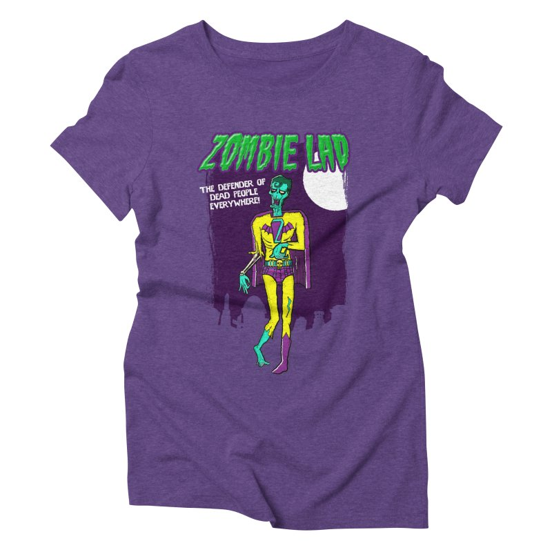 Zombie Lad Women's Triblend T-Shirt by John D-C