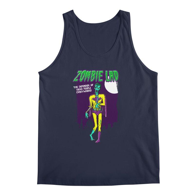 Zombie Lad Men's Tank by John D-C's Artist Shop