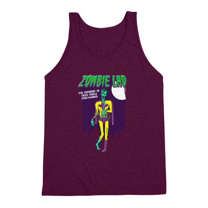 Zombie Lad Men's Triblend Tank by John D-C