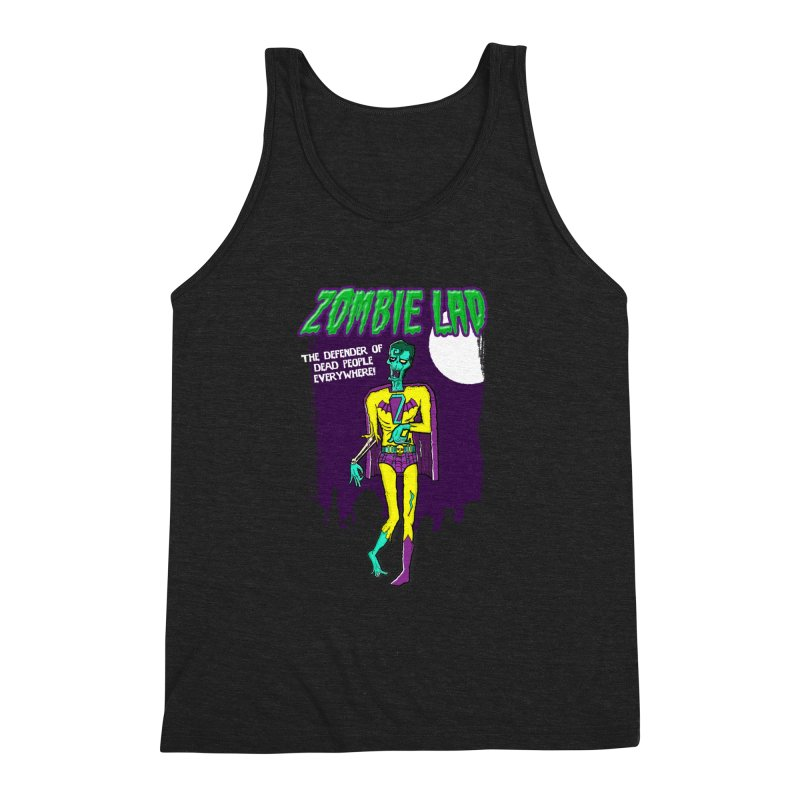 Zombie Lad Men's Triblend Tank by John D-C's Artist Shop