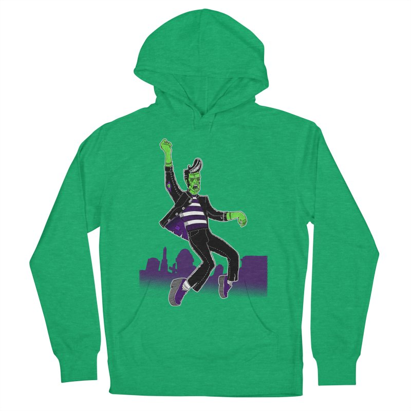 Frankie - Haunted House Rock Men's Pullover Hoody by John D-C's Artist Shop