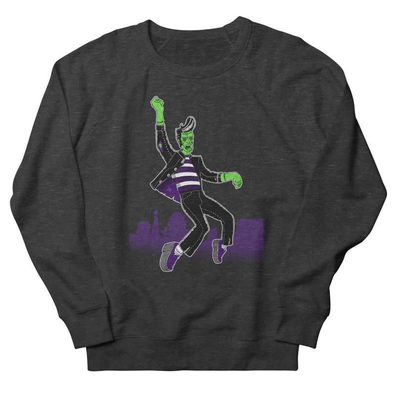 Frankie - Haunted House Rock Men's Sweatshirt by John D-C's Artist Shop