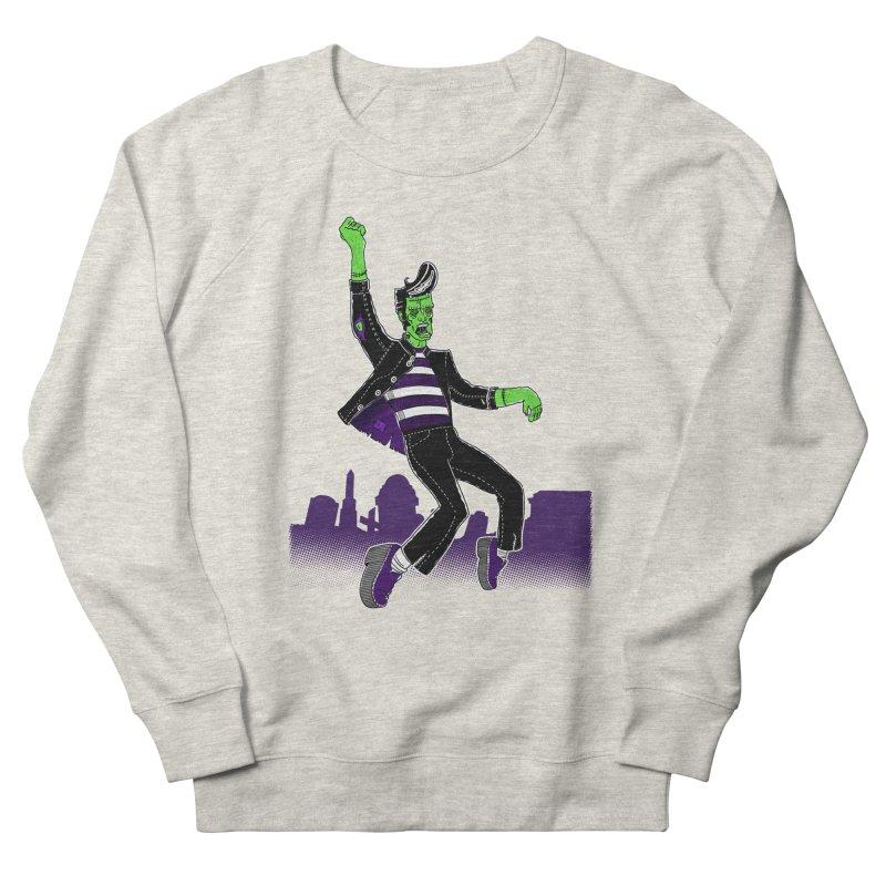 Frankie - Haunted House Rock Men's French Terry Sweatshirt by John D-C