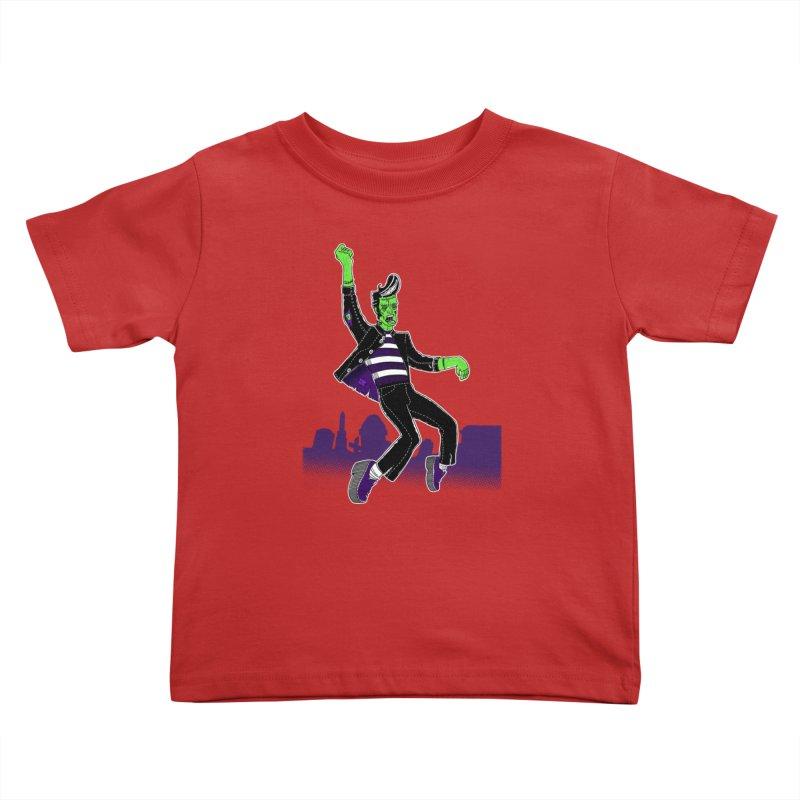 Frankie - Haunted House Rock Kids Toddler T-Shirt by John D-C