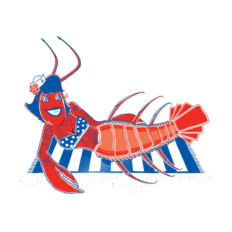 Rockabilly Lobster by John D-C's Artist Shop