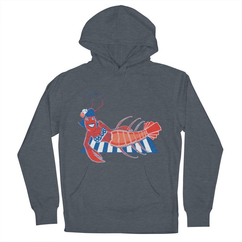 Rockabilly Lobster Women's Pullover Hoody by John D-C's Artist Shop