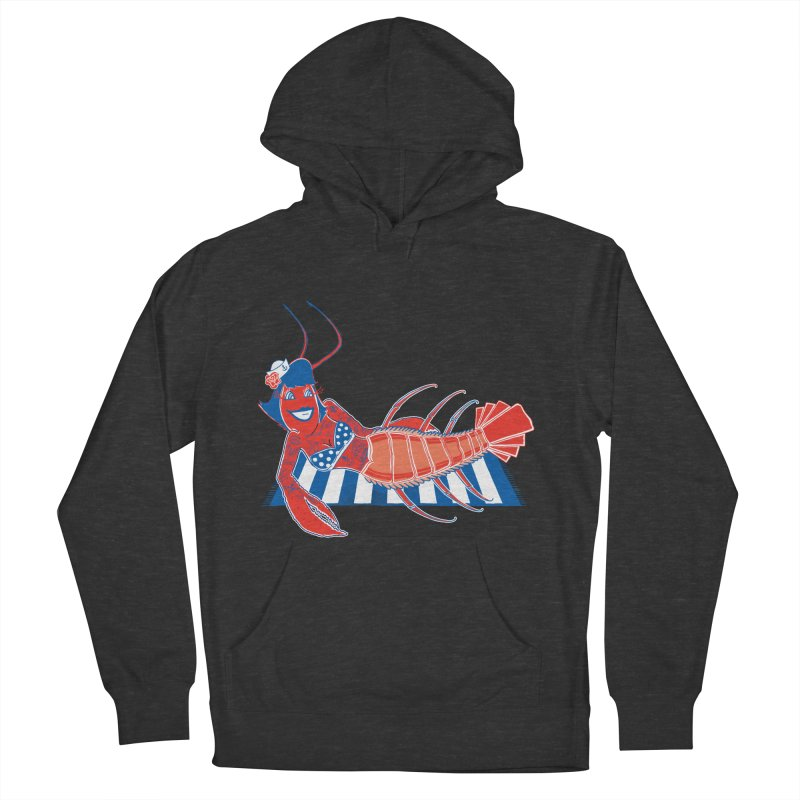 Rockabilly Lobster Men's Pullover Hoody by John D-C's Artist Shop
