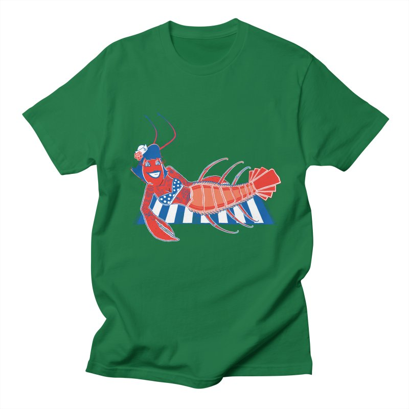 Rockabilly Lobster Men's T-Shirt by John D-C