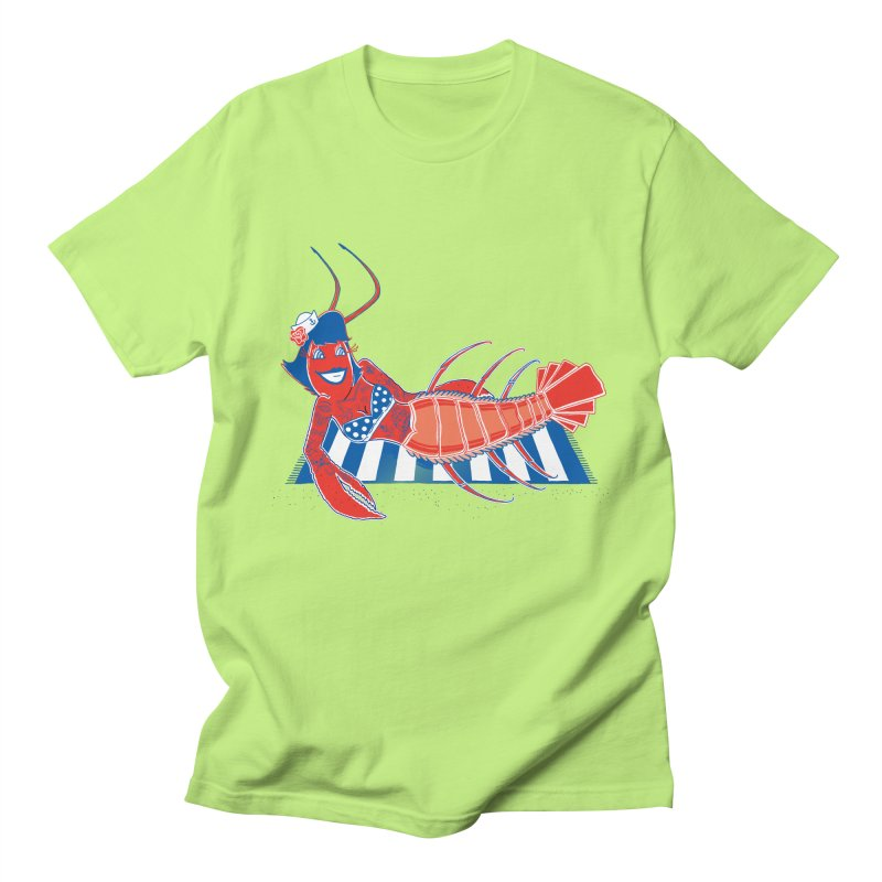Rockabilly Lobster Men's Regular T-Shirt by John D-C