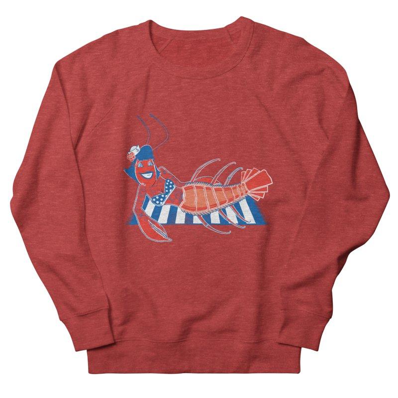 Rockabilly Lobster Men's French Terry Sweatshirt by John D-C