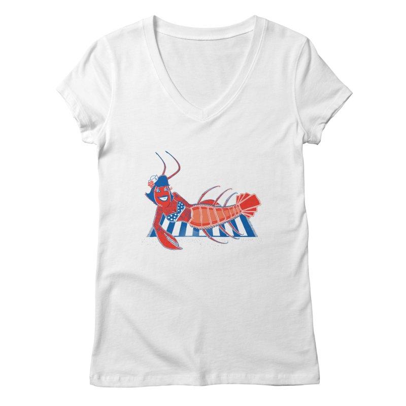 Rockabilly Lobster   by John D-C's Artist Shop