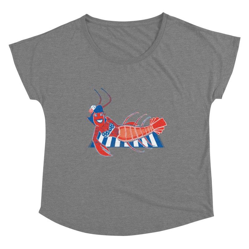 Rockabilly Lobster Women's Scoop Neck by John D-C
