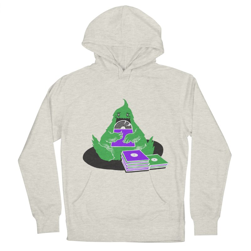 Fuzzy Has Good Taste! Women's French Terry Pullover Hoody by John D-C's Artist Shop