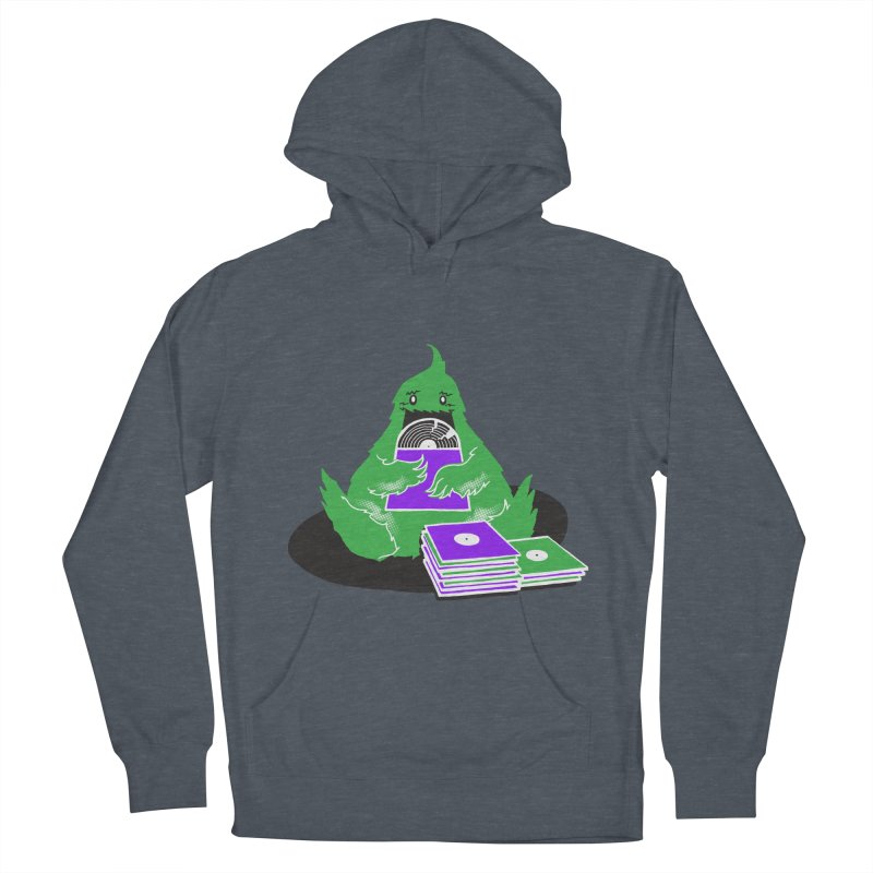 Fuzzy Has Good Taste! Men's French Terry Pullover Hoody by John D-C's Artist Shop