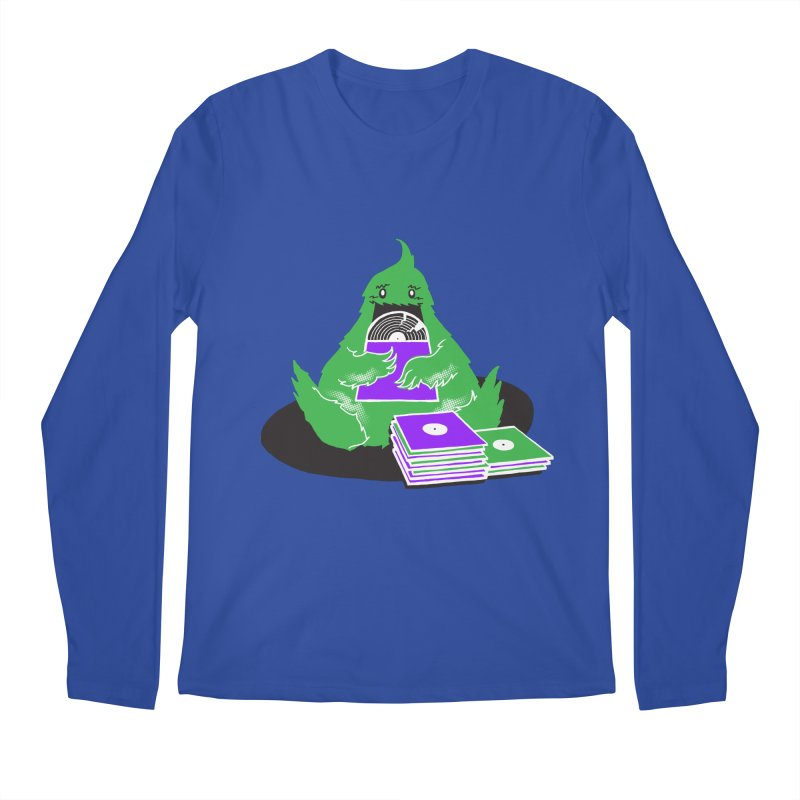 Fuzzy Has Good Taste! Men's Longsleeve T-Shirt by John D-C's Artist Shop