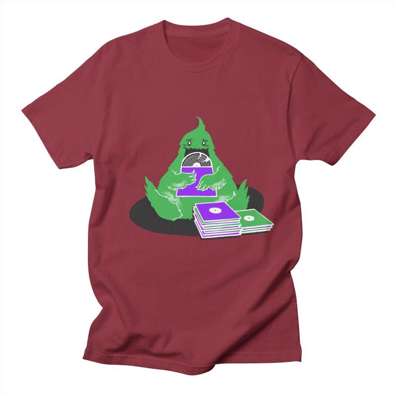 Fuzzy Has Good Taste! Men's Regular T-Shirt by John D-C's Artist Shop