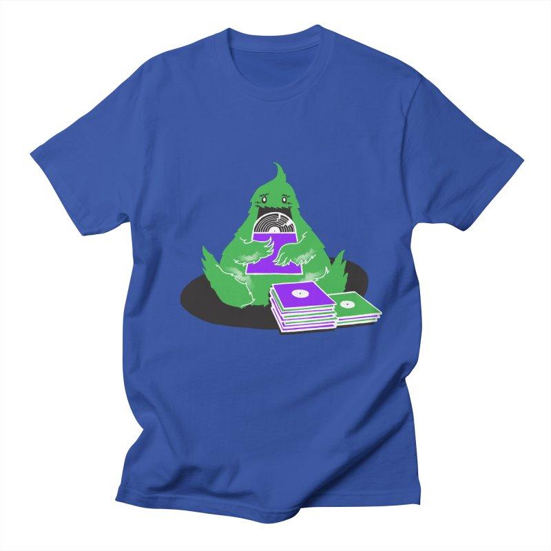 Fuzzy Has Good Taste! Men's T-shirt by John D-C's Artist Shop