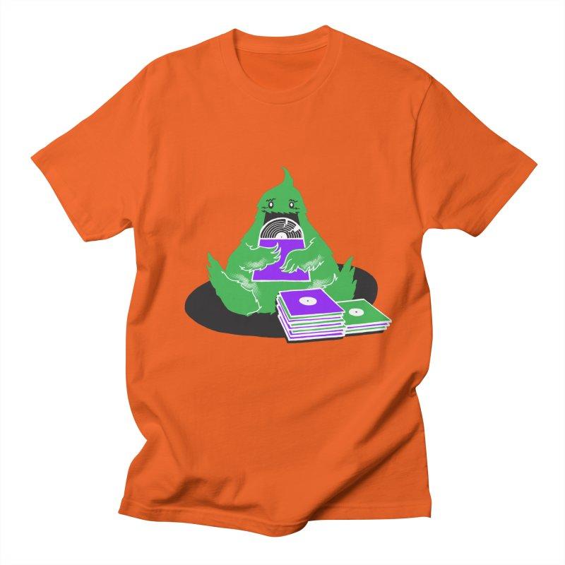 Fuzzy Has Good Taste! Men's Regular T-Shirt by John D-C
