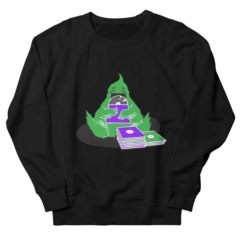 Fuzzy Has Good Taste! Women's French Terry Sweatshirt by John D-C