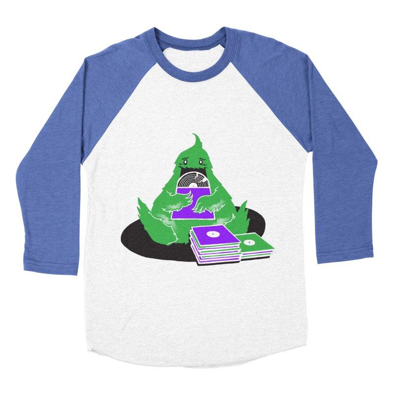 Fuzzy Has Good Taste! Women's Baseball Triblend T-Shirt by John D-C's Artist Shop