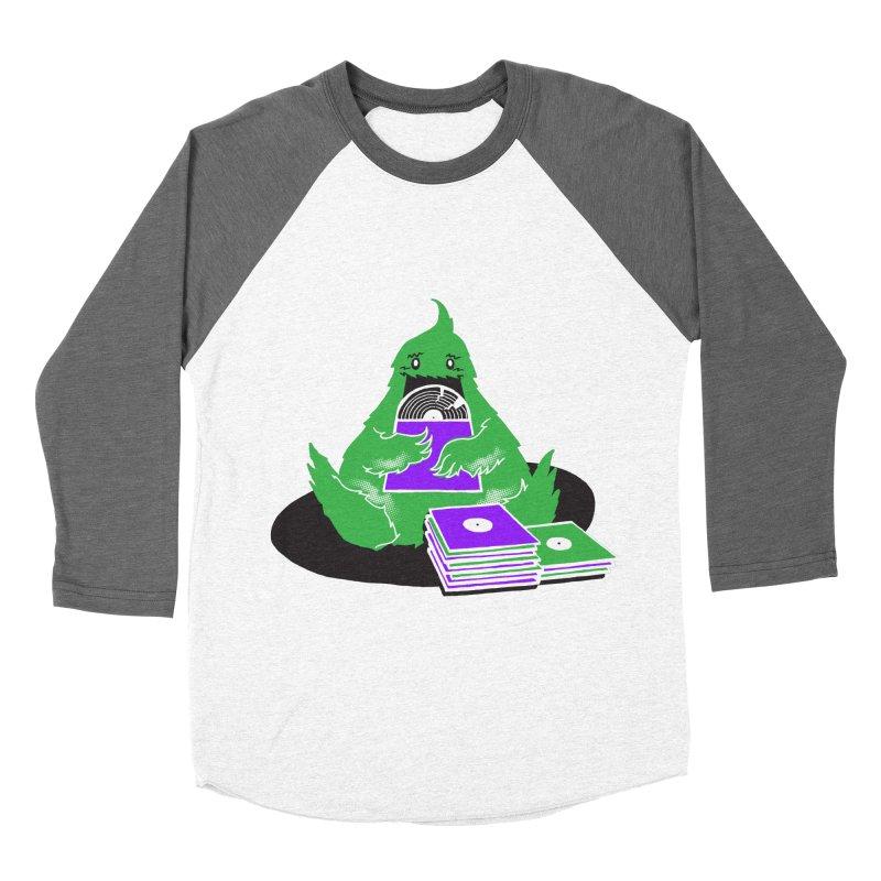 Fuzzy Has Good Taste! Men's Baseball Triblend T-Shirt by John D-C's Artist Shop