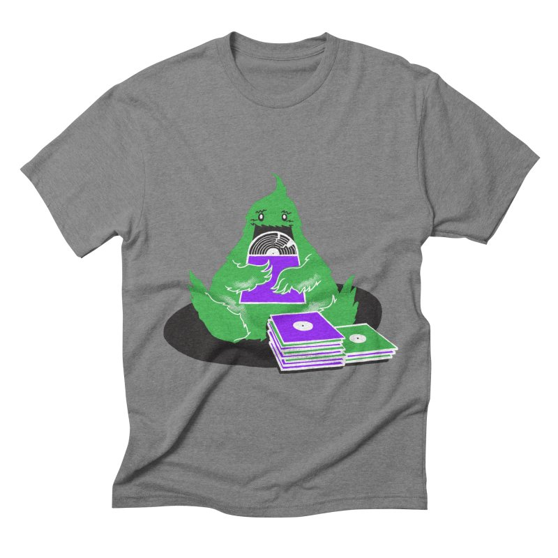 Fuzzy Has Good Taste! Men's Triblend T-shirt by John D-C's Artist Shop