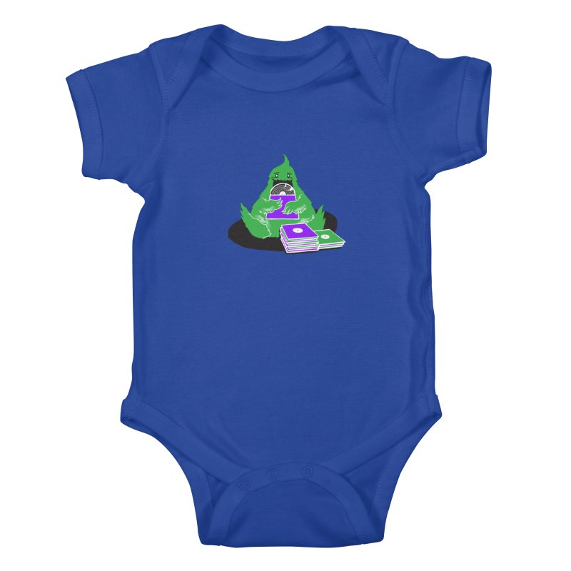 Fuzzy Has Good Taste! Kids Baby Bodysuit by John D-C