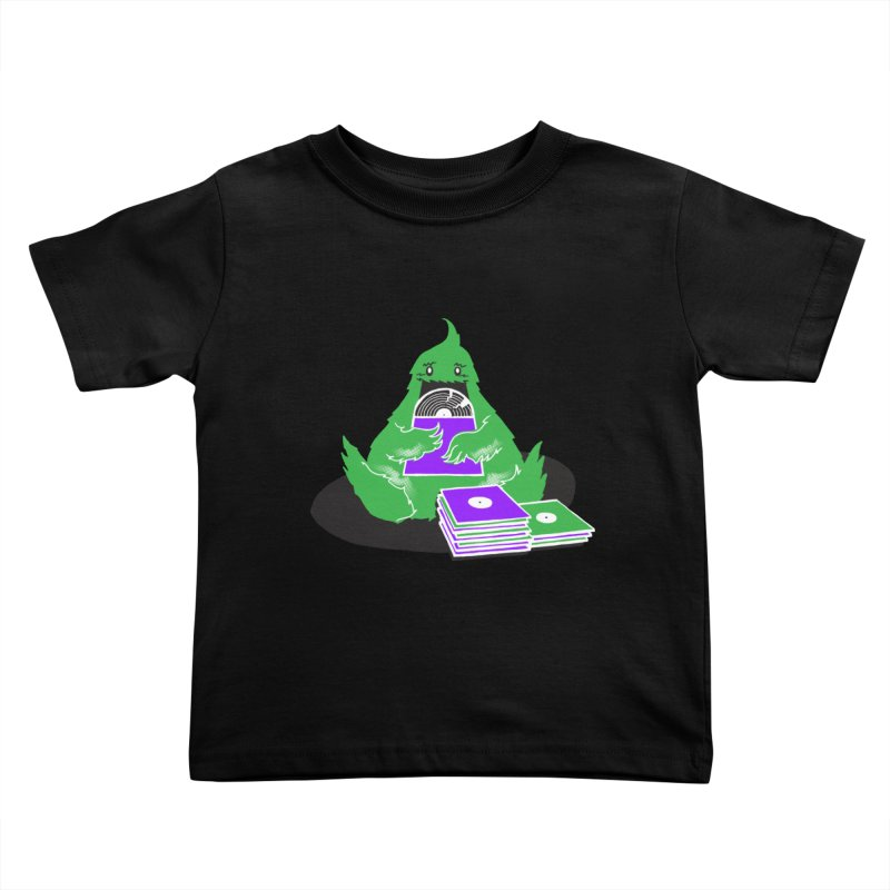 Fuzzy Has Good Taste! Kids Toddler T-Shirt by John D-C