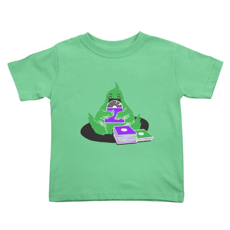 Fuzzy Has Good Taste! Kids Toddler T-Shirt by John D-C's Artist Shop
