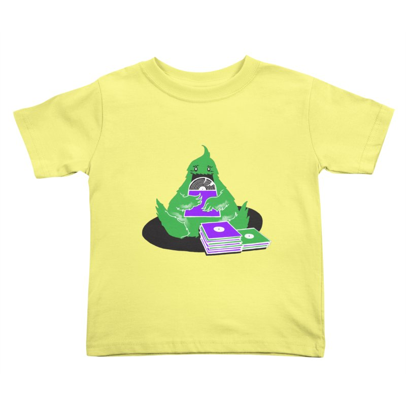 Fuzzy Has Good Taste! Kids Toddler T-Shirt by John D-C