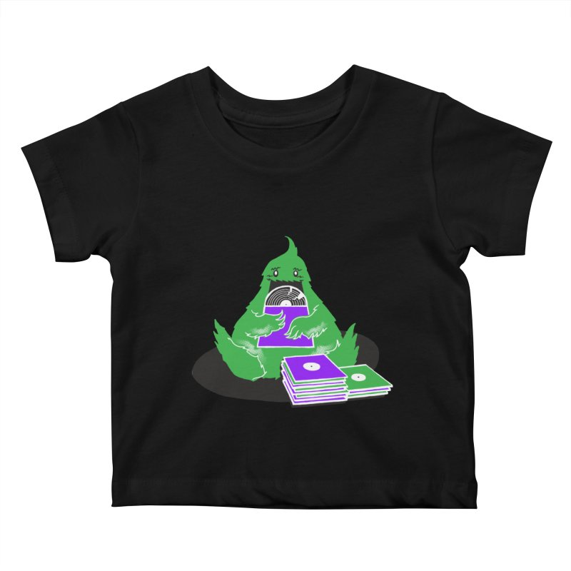 Fuzzy Has Good Taste! Kids Baby T-Shirt by John D-C's Artist Shop