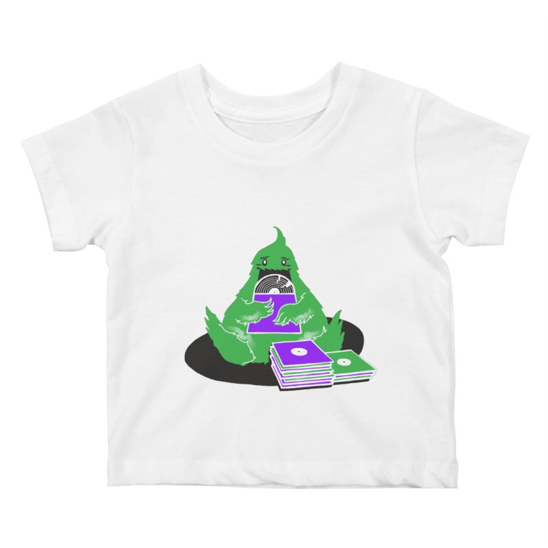 Fuzzy Has Good Taste! Kids Baby T-Shirt by John D-C
