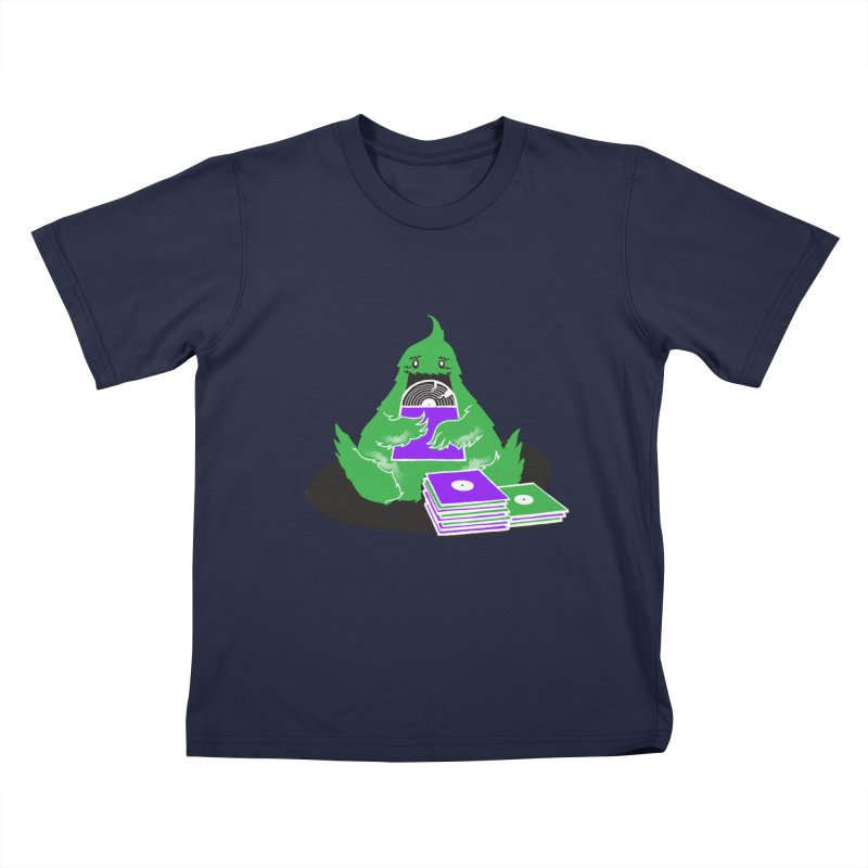 Fuzzy Has Good Taste! Kids Toddler T-Shirt by John D-C's Artist Shop