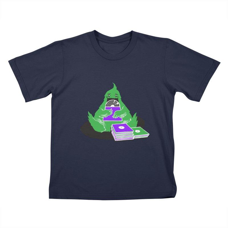 Fuzzy Has Good Taste! Kids T-Shirt by John D-C