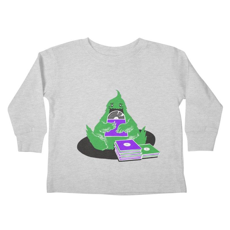 Fuzzy Has Good Taste! Kids Toddler Longsleeve T-Shirt by John D-C's Artist Shop