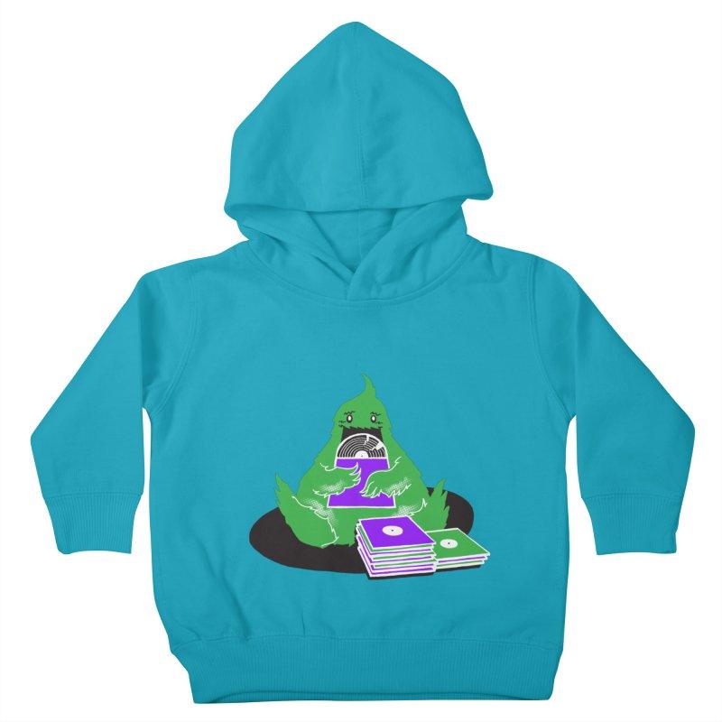 Fuzzy Has Good Taste! Kids Toddler Pullover Hoody by John D-C's Artist Shop