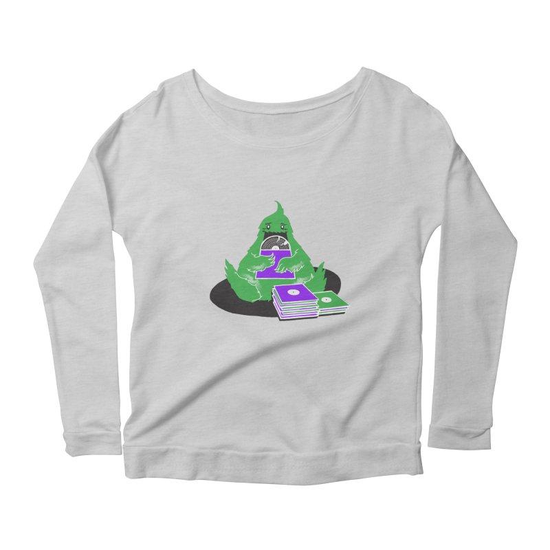 Fuzzy Has Good Taste! Women's Scoop Neck Longsleeve T-Shirt by John D-C