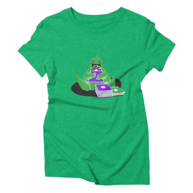 Fuzzy Has Good Taste! Women's Triblend T-Shirt by John D-C