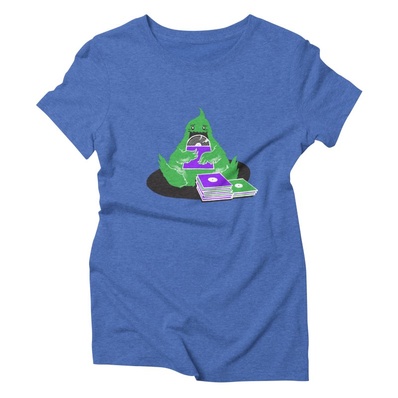 Fuzzy Has Good Taste! Women's Triblend T-Shirt by John D-C's Artist Shop